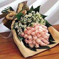 鲜花礼品-红粉佳人