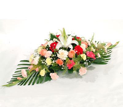 鲜花店-会议桌花3