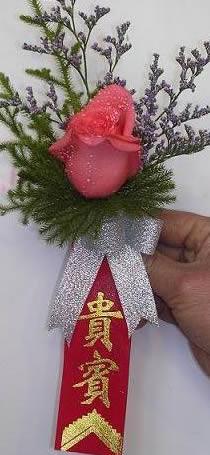 鲜花礼品-胸花1