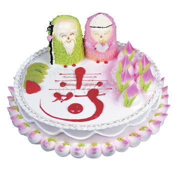 买蛋糕-福寿双全