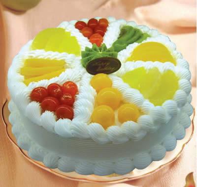 生日蛋糕-你我同心