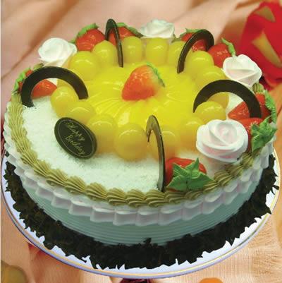 水果蛋糕-星空灿烂