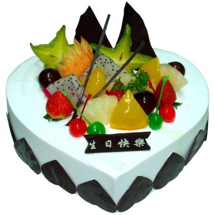 巧克力水果蛋糕-依恋