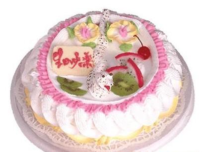 水果蛋糕-小蛇