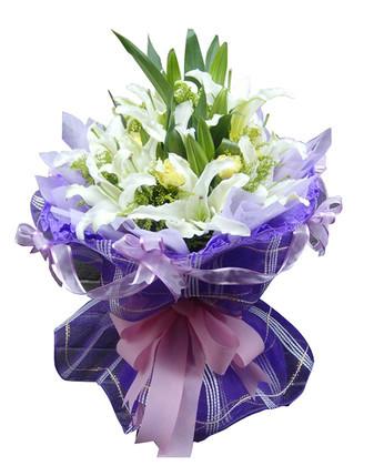 鲜花礼品店-温馨祝愿