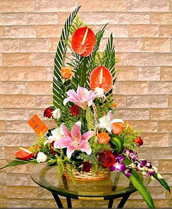 网上花店-新年快乐