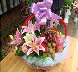 鲜花水果果篮-果篮・商务果篮