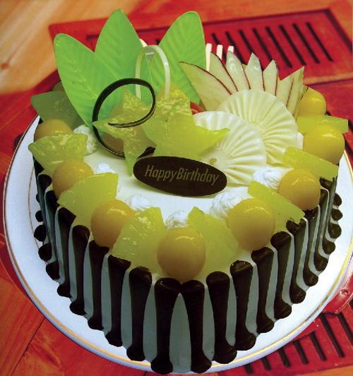 蛋糕鲜花-深情
