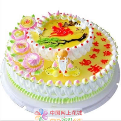 米旗品牌蛋糕-福如东海