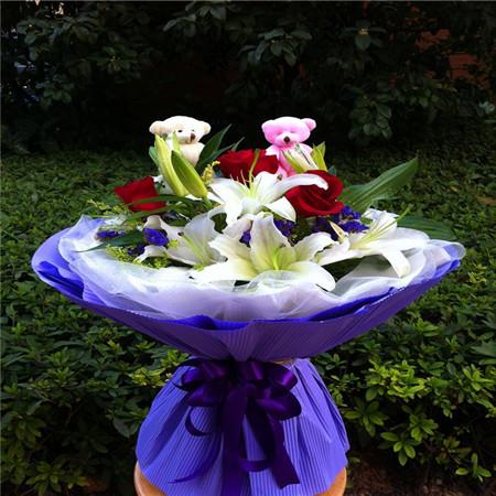 鲜花礼品-真情永久