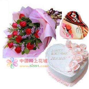 鲜花礼品-一生最爱