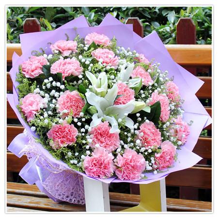 订花服务-幸福女人