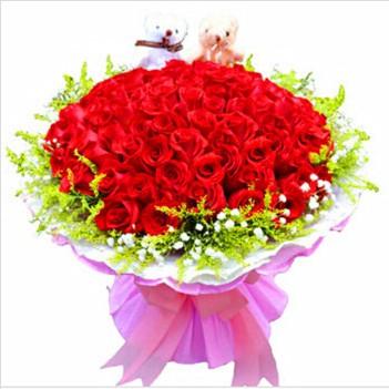 鲜花礼品-长久爱