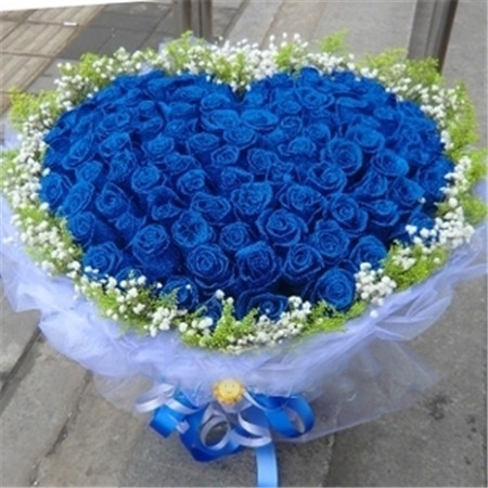 鲜花公司-蓝色爱情海
