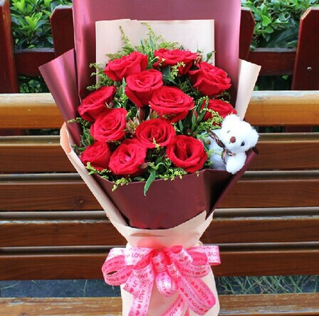 鲜花店-一生的爱