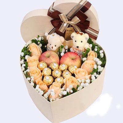 鲜花定购-圣诞礼盒2