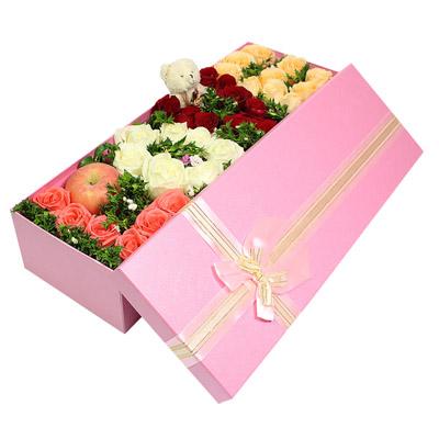 鲜花快递网-LOVE礼盒
