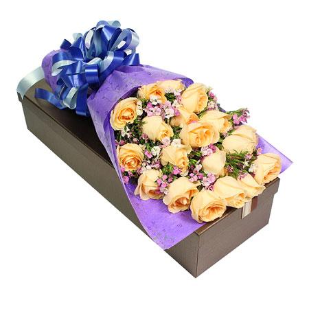 鲜花网站-清纯丽人