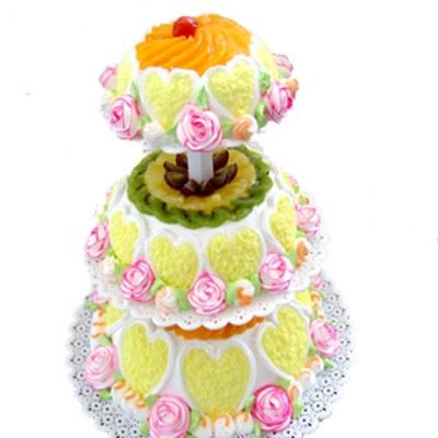 蛋糕鲜花-春暖花开