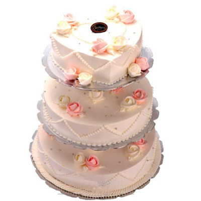 生日鲜花蛋糕-心想事成