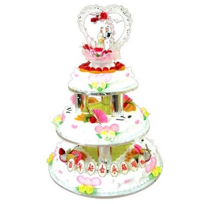 巧克力水果蛋糕-水果夹心蛋糕