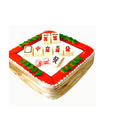 鲜奶蛋糕dangao-旗开得胜