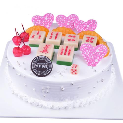 鲜花蛋糕-场场必胜