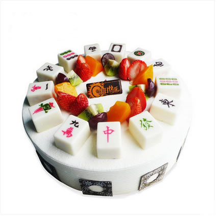 生日鲜花蛋糕-逢赌必胜