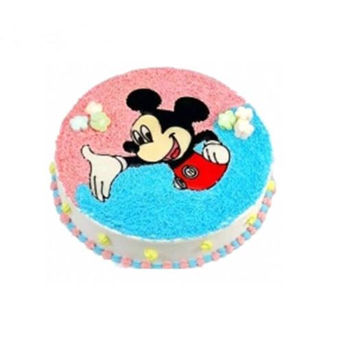 水果蛋糕-快乐米奇