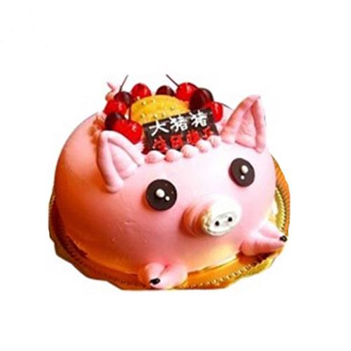 鲜奶蛋糕dangao-财运滚滚