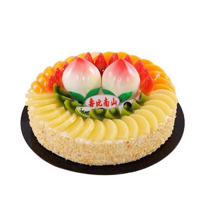 水果蛋糕-蟠桃献寿