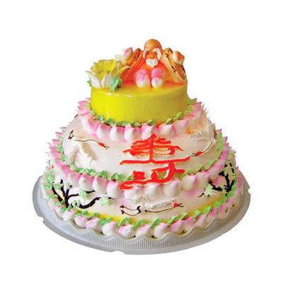 鲜奶蛋糕dangao-多层祝寿