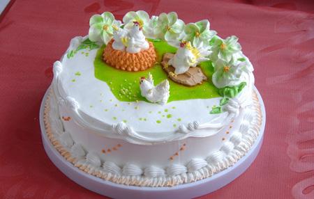 卖蛋糕dangao-鸡年大吉