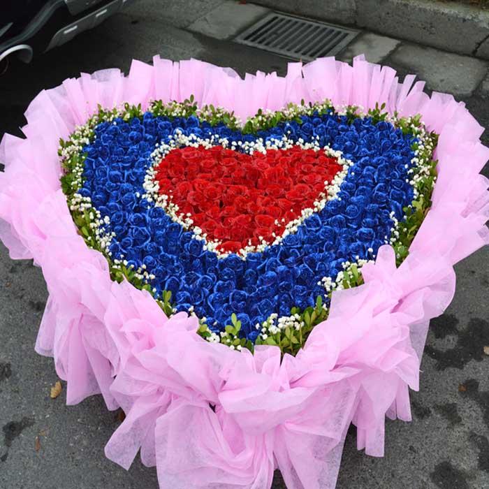 鲜花速递网-爱你一生