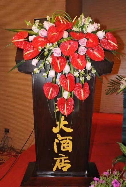 鲜花网-讲台花7