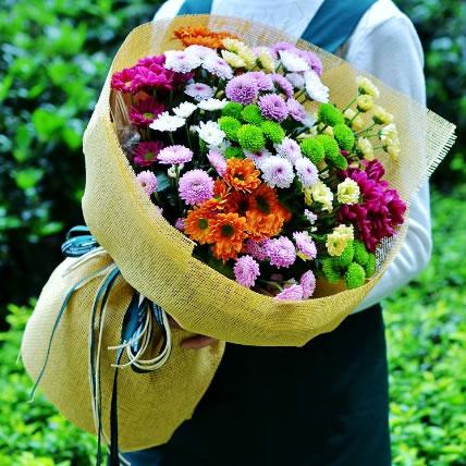 鲜花店-粉色恋情