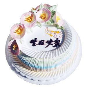 520情人节礼物                                                                                       鲜花网:冰淇淋味蛋糕