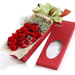 新年礼物                                                                                            鲜花网:携手相依