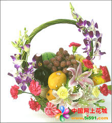 陶波水果篮-温情家园
