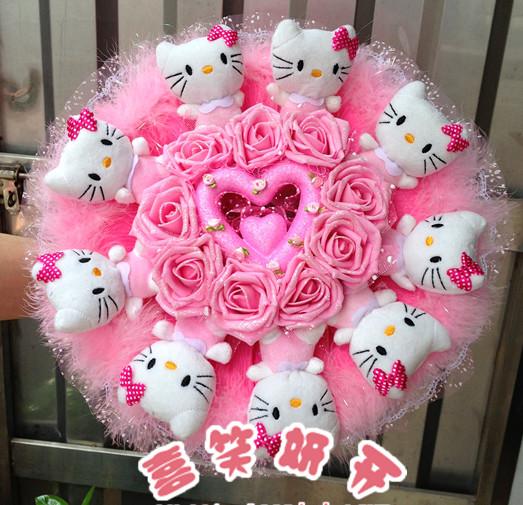 冬至节礼物                                                                                          鲜花网:KT猫喜欢花