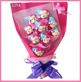 汾西鲜花配送-送花