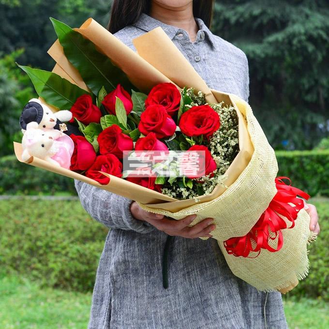 国庆节鲜花                                                                                          鲜花网:520