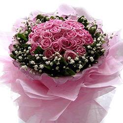 买花网站                                                                                            鲜花网:粉红回忆