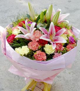 平安夜礼物                                                                                          鲜花网:感恩母亲