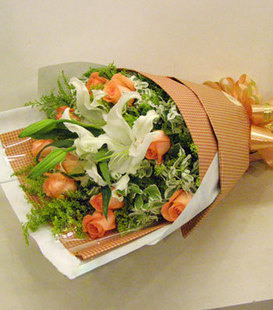 重阳节礼物                                                                                          鲜花网:缘