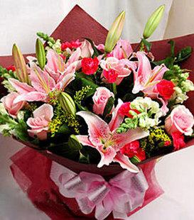 花篮                                                                                                鲜花网:馨人的芬芳