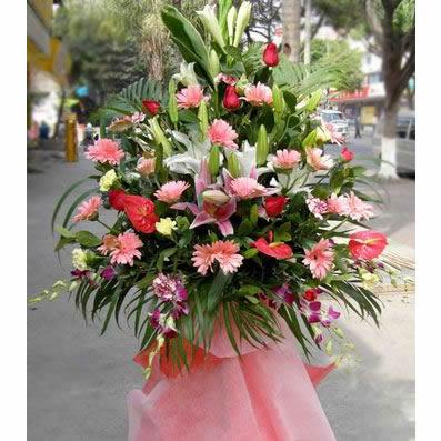 买花网站                                                                                            鲜花网:一团锦簇_庆典花篮
