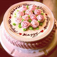 达拉斯送蛋糕-心心相印