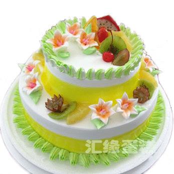 520情人节礼物                                                                                       鲜花网:3层鲜奶蛋糕