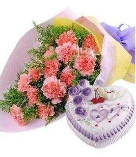 平安夜礼物                                                                                          鲜花网:好心情
